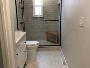 New Modern Bathroom (After Photo)